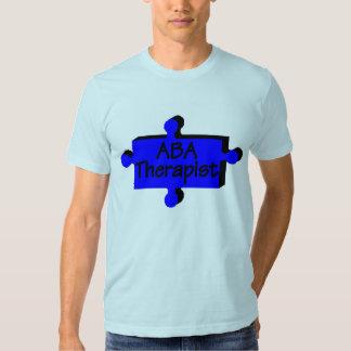Terapeuta del ABA (azul P) Camisas