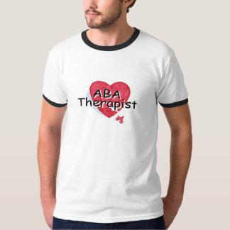 Terapeuta del ABA (rompecabezas de Hrt) Camisas