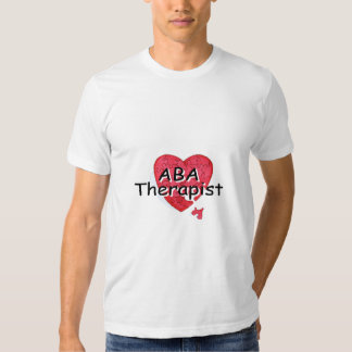 Terapeuta del ABA (rompecabezas de Hrt) Camiseta