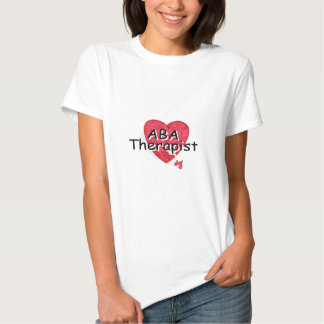 Terapeuta del ABA (rompecabezas de Hrt) Camisetas