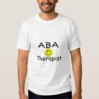 Terapeuta del ABA (smiley) Camisas