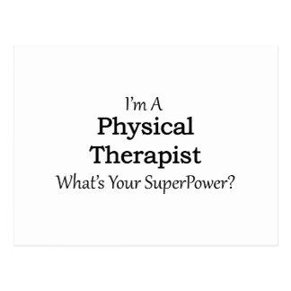 Terapeuta físico postal