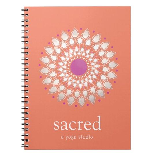 Terapeuta natural de la salud y de la salud de la cuaderno