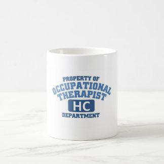 Terapeuta profesional taza básica blanca
