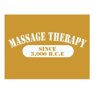 Terapia del masaje desde 3.000 B.C.E. Tarjetas Postales