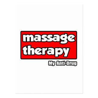 Terapia del masaje. Mi antinarcótico Postal