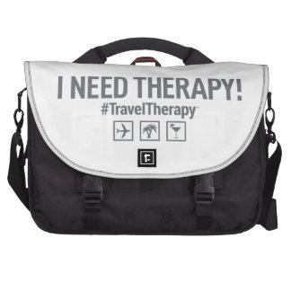 Terapia del viaje bolsa para ordenador
