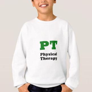 Terapia física de la pinta sudadera