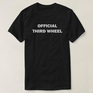 Tercera camiseta de la rueda del funcionario