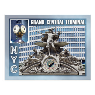 Terminal central magnífico, NYC Postal