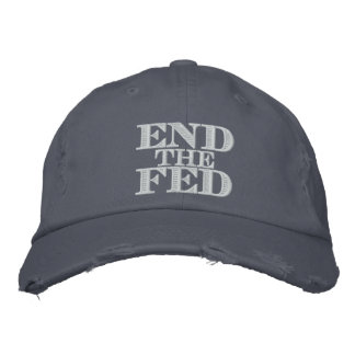 Termine el FED Gorra Bordada