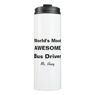 Termo El conductor del autobús más impresionante del