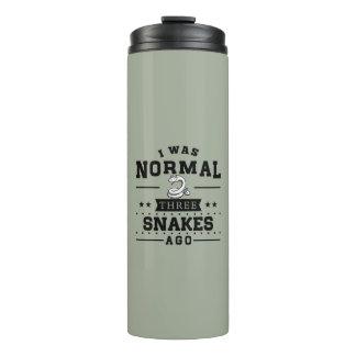 Termo Era hace tres serpientes normales
