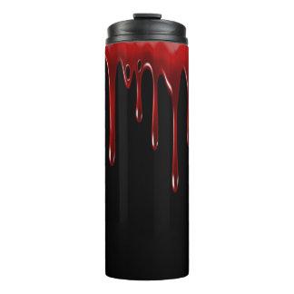 Termo La sangre de Falln gotea negro