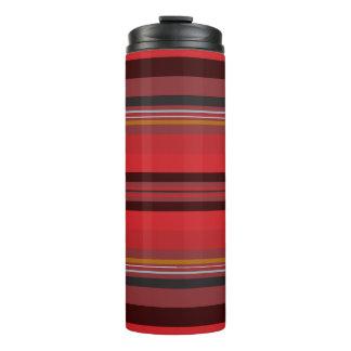 Termo Rayas - horizonte rojo