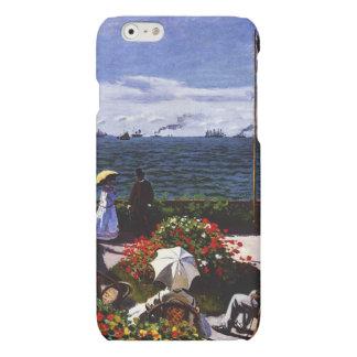 Terraza de Claude Monet-The en Sainte-Adresse