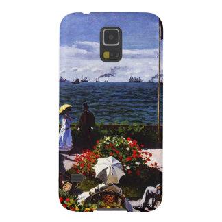 Terraza de Claude Monet-The en Sainte-Adresse Carcasa Galaxy S5