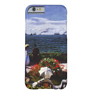 Terraza de Claude Monet-The en Sainte-Adresse Funda Barely There iPhone 6