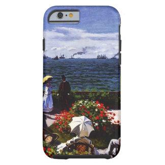 Terraza de Claude Monet-The en Sainte-Adresse Funda Resistente iPhone 6