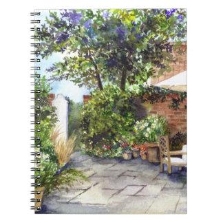 Terraza de la casa señorial, York Cuaderno