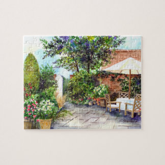 Terraza de la casa señorial, York Puzzle