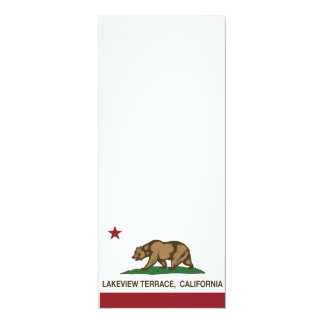 terraza del lakeview de la bandera de California Comunicados