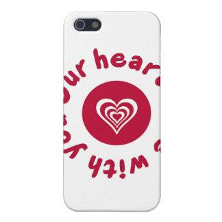 Terremoto de Japón y camisa del alivio del tsunami iPhone 5 Cárcasas