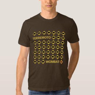 Terremoto Wombat Camiseta