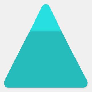 Terreno de juego reconstruido calcomanía de triangulo personalizadas