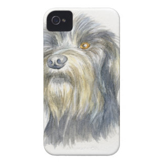 Terrier melenudo funda para iPhone 4 de Case-Mate