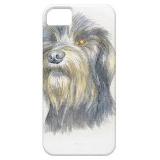 Terrier melenudo funda para iPhone SE/5/5s