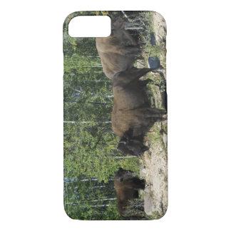 Territorios del noroeste. Nacional de madera del Funda iPhone 7