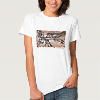 Teshirt de las libélulas camisas