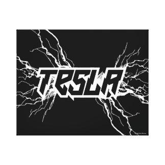 Tesla Impresión En Lienzo