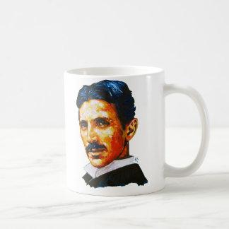 Tesla, soy un genio taza de café