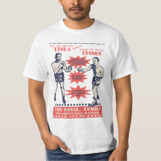 Tesla v. Edison Camiseta