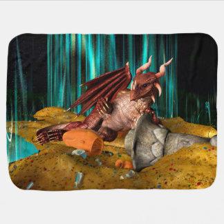Tesoro del dragón mantita para bebé