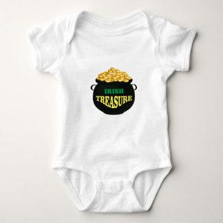 tesoro del irlandés del pote body para bebé