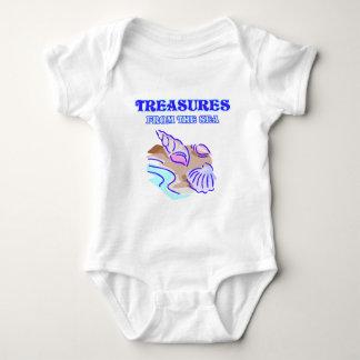 Tesoros del mar body para bebé