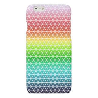 Tessellation geométrico del marco del arco iris