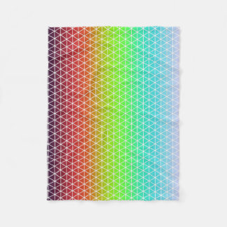 Tessellation geométrico del marco del arco iris manta polar