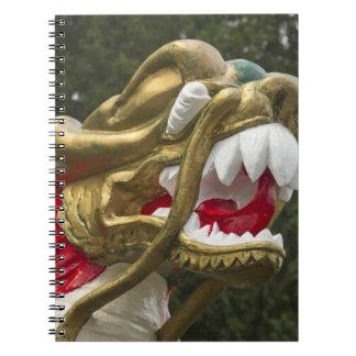 Testaferro chino del dragonboat, parque de Stanley Libro De Apuntes