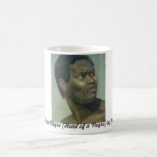 Tête de Nègre (cabeza de un negro) por Gros Taza Clásica