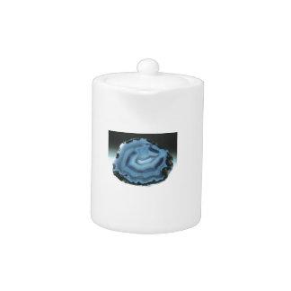 Tetera Ágata azul