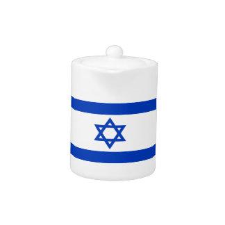 Tetera ¡Bajo costo! Bandera de Israel