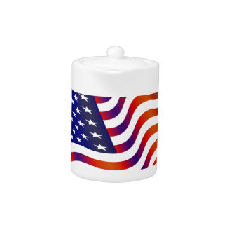 Tetera Bandera americana