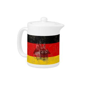 Tetera Bandera y símbolos de Alemania ID152