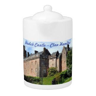 Tetera Castillo de Brodick - clan Hamilton
