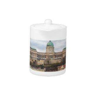 Tetera Castillo Hungría Budapest de Buda en el día