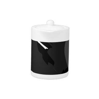 Tetera cisne negro